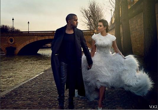 Kanye Kim Vogue